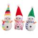 Color-Changing Snowmen Set of 3