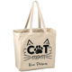 Personalized Cat Mom Tote