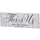Personalized This is Us Lighted Canvas