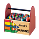 Personalized Wooden Crayon Caddy, One Size