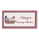 Personalized 4X8 Country Kitchen Wood Wall Plaque