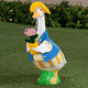 Female Gardener Goose Outfit
