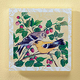 8X8 Yellow Finch Wood Wall Plaque