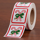 Candy Cane Seals - Set of 250