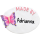 Personalized Butterfly Magnet