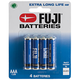 Fuji AAA Batteries 4-Pack, One Size