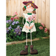 Girl Garden Stake By Maple Lane Creations