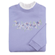 Purple Sweeping Flowers Sweatshirt