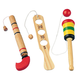 Wooden Toy Set - Set of 3, One Size