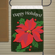 Poinsettia Garden Flag, One Size