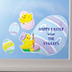 Personalized Easter Window Clings