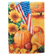 American Fall Garden Flag, One Size