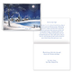 Silent Night Christmas Card Set of 20