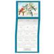 Songbird Calendar Christmas Card Set of 20