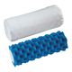 Therapeutic Roll Pillow With Satin Cover