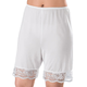 Lace Trimmed Pettipant - Short, One Size