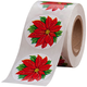 Poinsettia Envelope Seals