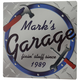 Personalized 12X12 Garage Metal Wall Plaque