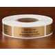 Calligraphy Labels Roll/500
