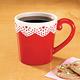 Valentine Eyelet Mug