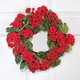 Silk Flower Door Wreaths