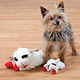 Lamb Chop Dog Toy Set of 2