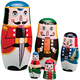 Nutcracker Nesting Dolls, One Size