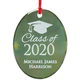Personalized Glass Graduation Ornament, One Size