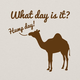 What Day Is It? T-Shirt - Natural, Large