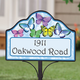 Personalized Magnetic Butterfly Yard Sign