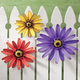 Outdoor Metal Coneflower Art by Maple Lane Creations, One Size
