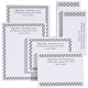 Pers Diagonal Stripes Business Notepads Refill Set of 6