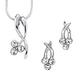 3 Jewel Necklace & Earring Set