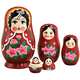 Traditional Russian Nesting Doll Set/5, One Size