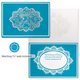 Lace Nativity Non-Personalized Card Set of 20