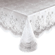 Vinyl Lace Tablecloth, One Size