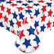 Patriotic Stars Table Cloth, One Size