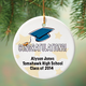 Personalized Graduation Porcelain Ornament