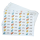 Flower Address Labels - Roll Of 250