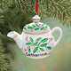 Personalized Teapot Ornament