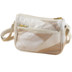 Cream Patch Leather Handbag
