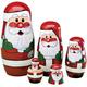 Santa Nesting Dolls, One Size