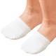 Toe Half Socks 2 Pair - White, One Size