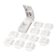 Multiple Shape Pill Cutter, One Size, White