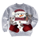 Snowman Sweatshirt, One Size