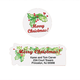 Merry Christmas Labels And Seals - Sets Of 150, One Size