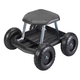 Garden Scooter, One Size, Black