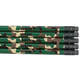 Personalized Camouflage Pencils, Set of 12, One Size