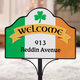 Personalized Irish Pride Magnetic Sign