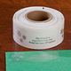 Clear Personalized Snowflake Labels - Set of 250